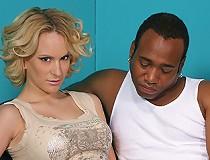 Pregnant blond & teen interracial fuck suck facial