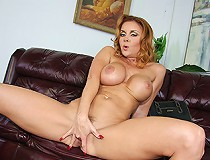 Busty Milf plays with black man for videos she hopes never see the light of day