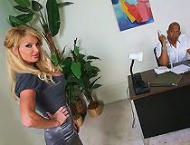 Cougar Taylor Wayne and a gigantic black monster cock